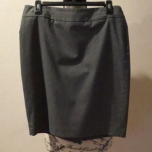The Limited Grey Skirt